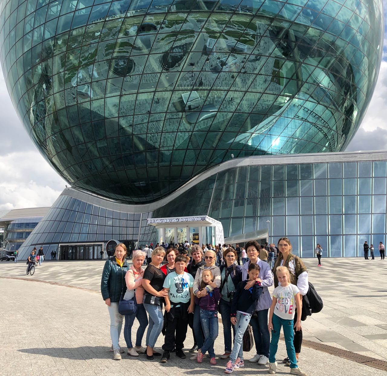 "Tour ""Nur-Sultan – the city of spherical shapes"" (group. 40 people)"