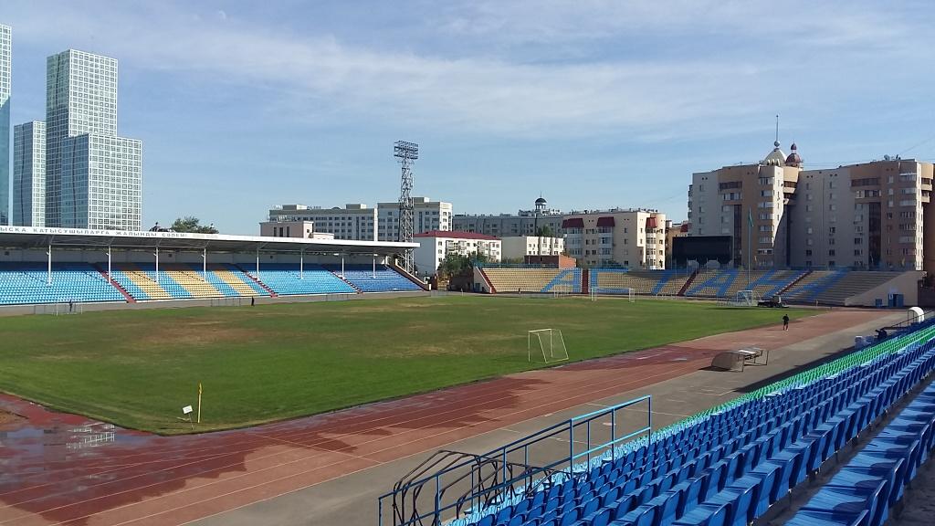 Стадион в Нур-Султане (Астане)
