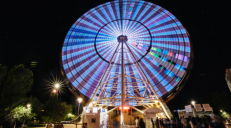 The Ferris Wheel «Ailand»