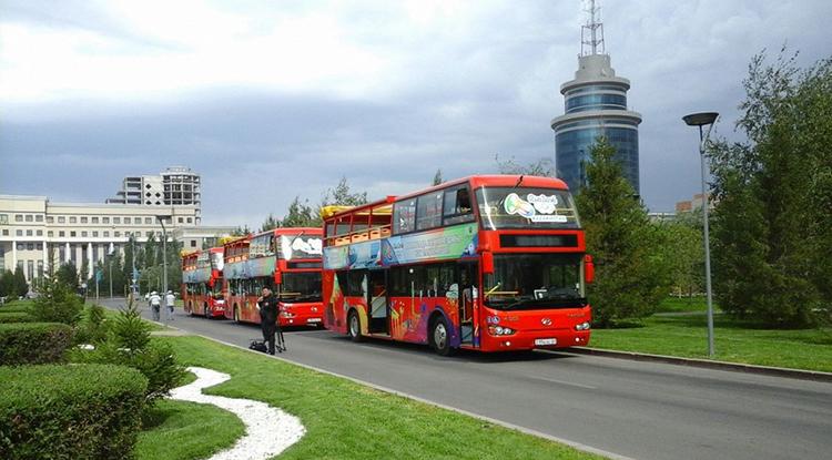 Экскурсия на двухэтажном автобусе Red Bus