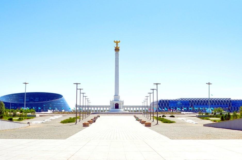 Monument «Kazakh Eli»